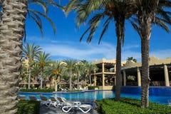 RIU Santa Fe Hotel på Cabo San Lucas, Mexico Arkivbilder