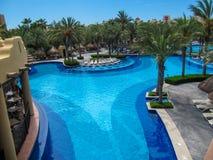 RIU Santa Fe Hotel på Cabo San Lucas, Mexico Royaltyfri Bild