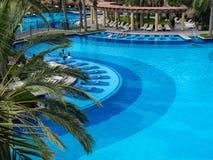 RIU Santa Fe Hotel på Cabo San Lucas, Mexico Fotografering för Bildbyråer