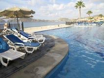 RIU Santa Fe Hotel på Cabo San Lucas, Mexico Royaltyfria Bilder