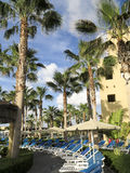 RIU Santa Fe Hotel på Cabo San Lucas, Mexico Arkivfoton