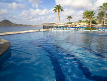 RIU Santa Fe Hotel på Cabo San Lucas, Mexico Royaltyfria Foton