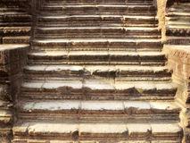 riun of ancient sandstone stair Royalty Free Stock Photo