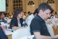 Riunione annuale della società tailandese per biotecnologia Fotografie Stock
