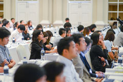 Riunione annuale della società tailandese per biotecnologia Immagine Stock Libera da Diritti