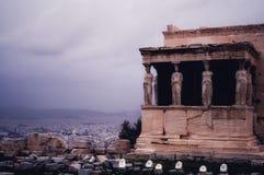 Riunione con l'antichità, Atene, Grecia fotografia stock libera da diritti