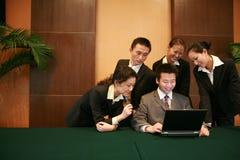 Riunione d'affari Fotografie Stock