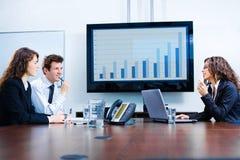Riunione d'affari Immagine Stock