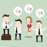 Riunione d'affari e 'brainstorming' Immagine Stock