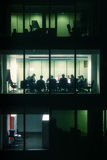 Riunione d'affari recente Fotografia Stock Libera da Diritti