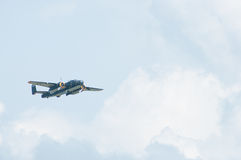 Riunione 2014 del champagne gallone dello show aereo B-25 di Eagles Immagine Stock Libera da Diritti