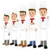 Riunione del cuoco Fotografia Stock