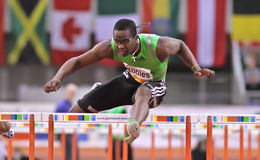 Riunione dell'interno di atletismo Immagini Stock