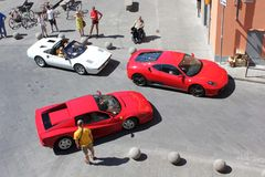Riunione di Ferrari Immagine Stock Libera da Diritti