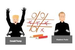 Riunione di presidenti Donald Trump Immagine Stock Libera da Diritti