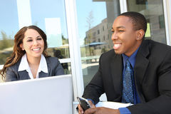 Riunione varia della squadra di affari come gruppo Immagini Stock