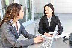 Riunione varia della squadra di affari come gruppo Immagini Stock Libere da Diritti