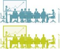 Riunioni d'affari Immagini Stock