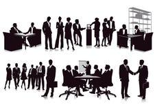 Riunioni d'affari e presentazione illustrazione vettoriale