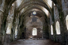 riuns的教会 库存图片