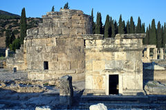 Riuns of ancient city Hierapolis Royalty Free Stock Images