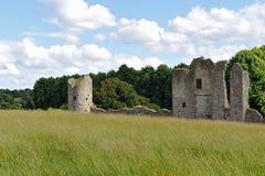 Riuns do castelo de Crom fotos de stock