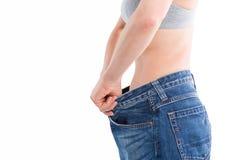 Riuscita dieta immagini stock
