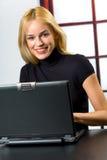 Riuscita donna di affari Immagini Stock Libere da Diritti