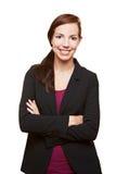 Riuscita donna di affari Fotografie Stock Libere da Diritti