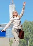 Riuscita donna di affari Fotografia Stock Libera da Diritti