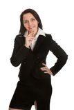 Riuscita donna di affari matura Fotografie Stock