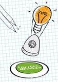 Riuscita missione, idee illustrazione vettoriale