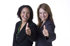 Riuscite donne di affari Fotografia Stock Libera da Diritti