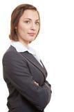 Riuscito esecutivo femminile Fotografie Stock