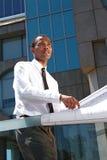 Riuscito giovane architetto Fotografia Stock Libera da Diritti