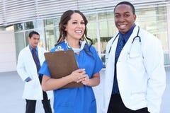 Riuscito gruppo di medici vario Immagine Stock Libera da Diritti