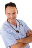 Riuscito medico caucasico dell'uomo Immagine Stock