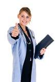 Riuscito medico femminile fotografia stock libera da diritti