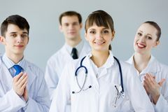 Riuscito medico femminile Fotografie Stock Libere da Diritti