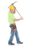 Riuscito operaio di costruzione Fotografie Stock