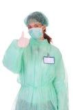 Riuscito operaio di sanità fotografia stock