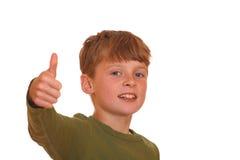Riuscito ragazzo Fotografia Stock Libera da Diritti