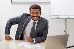 Riuscito uomo d'affari Immagini Stock