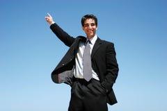 Riuscito uomo d'affari immagini stock libere da diritti