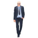 Riuscito uomo d'affari - isolato Fotografia Stock