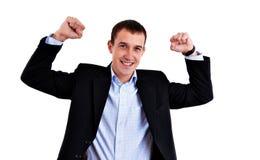 Riuscito uomo di affari Fotografia Stock Libera da Diritti