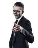 Riuscito zombie dell'uomo d'affari Fotografia Stock