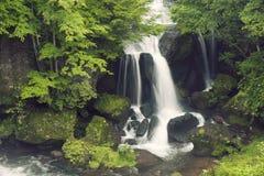 Riuzu waterfall in Japan Stock Images