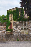 Riva城堡 Ponte dell'Olio 伊米莉亚罗马甘 意大利 免版税库存图片