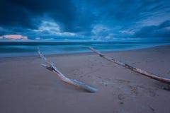 Riva baltica Fotografie Stock Libere da Diritti